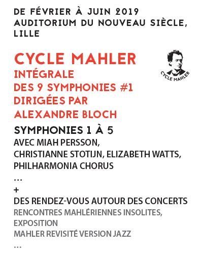 CYCLE MAHLER INTÉGRALE DES 9 SYMPHONIES